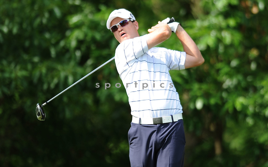 ZACH JOHNSON,during a practice round of the Quail Hollow Championship, on April 29, 2009 in Charlotte, NC.