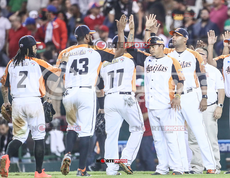 Venezuela gana ocho carreras por 3 a Cuba.<br /> Acciones., durante el partido de beisbol de la Serie del Caribe entre Alazanes de Granma Cuba vs las &Aacute;guilas del Zulia Venezuela en el Nuevo Estadio de los Tomateros en Culiacan, Mexico, Sabado 4 Feb 2017. Foto: Luis Gutierrez/NortePhoto.com.    ****<br /> <br /> Actions, during the Caribbean Series baseball match between Granma Cuba vs Alajuelas de Zulia Venezuela at the New Tomateros Stadium in Culiacan, Mexico, Saturday 4 Feb 2017. Photo: Luis Gutierrez / NortePhoto.com