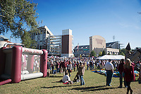 Homecoming Game 2015 vs Louisiana Tech - pre game Junction<br />  (photo by Keats Haupt / &copy; Mississippi State University)