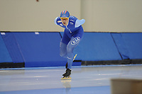 SPEEDSKATING: SALT LAKE CITY: 06-12-2017, Utah Olympic Oval, ISU World Cup, training, Allan Dahl Johansson (NOR), Junior World Record 3000m, 3.41,19, photo Martin de Jong