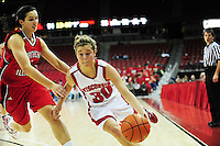Sophomore Alyssa Karel leads the Badgers with a career high 25 points on Sunday, as the Wisconsin women's basketball team tops Northern Illinois 70-62 at the Kohl Center in Madison
