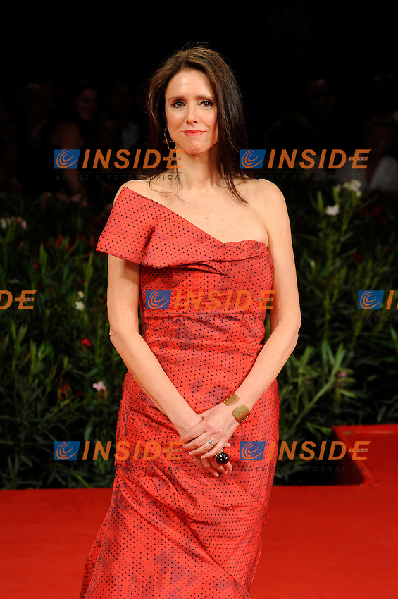 """- """"67 Mostra Internazionale D'Arte Cinematografica"""". Saturday,2010 September 11, Venice ITALY....- In The Picture: The film director Julie Taymor on the red carpet for the film """"THE TEMPEST""""......Photo STEFANO MICOZZI"""