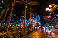 U. S. Grant Hotel, Gaslamp Quarter, Downtown San Diego, California USA.