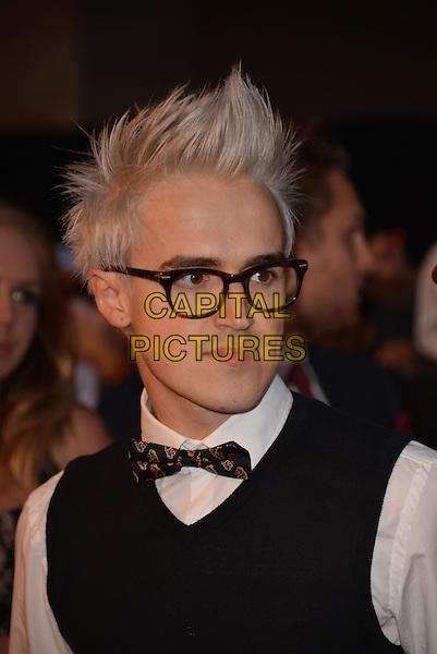 LONDON, ENGLAND - OCTOBER 06: McBusted - Tom Fletcher (McFly) attends the Pride of Britain Awards at The Grosvenor House Hotel on October 6, 2014 in London, England. <br /> CAP/PL<br /> &copy;Phil Loftus/Capital Pictures