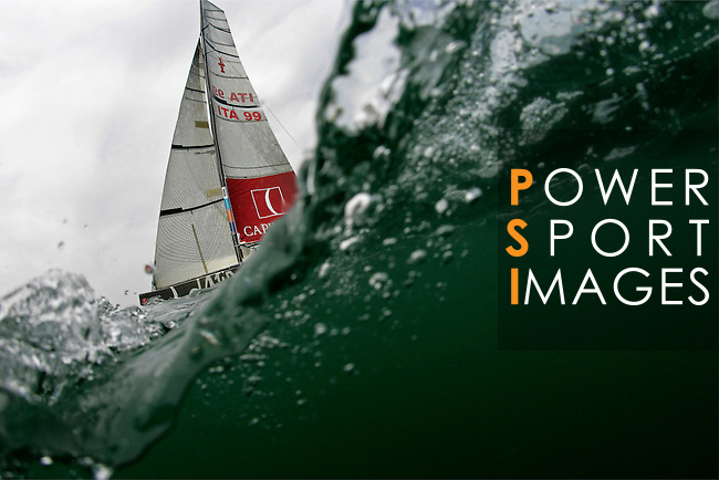 32nd America's Cup action in Valencia. Photo by Victor Fraile / The Power of Sport Images