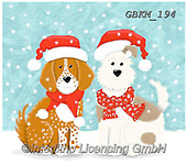 Kate, CHRISTMAS ANIMALS, WEIHNACHTEN TIERE, NAVIDAD ANIMALES, paintings+++++Christmas page 69 1,GBKM194,#xa# ,dog,dogs