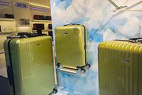 A Rimowa luggage store in New York on Wednesday, October 5, 2016. LVMH, the French luxury group, will buy an 80 percent stake in the German luggage manufacturer Rimowa for $716 million. Rimowa has been making luggage since 1898.(© Richard B. Levine)