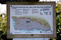 Thursday 15 June 2017<br />Pictured: A map posted near one of the gates of Castlemartin range.<br />Re: A soldier has been killed and three others injured after an incident involving a tank at a Ministry of Defence base in Pembrokeshire.<br />The soldier, from the Royal Tank Regiment, died in the incident at Castlemartin Range.<br />Two people were taken to Morriston Hospital in Swansea, while another casualty remains in Cardiff's University Hospital of Wales.<br />An investigation is under way.<br />Live firing was scheduled to take place at the range between Monday and Friday.<br />In May 2012, Ranger Michael Maguire died during a live firing exercise at the training base. An inquest later found he was unlawfully killed.