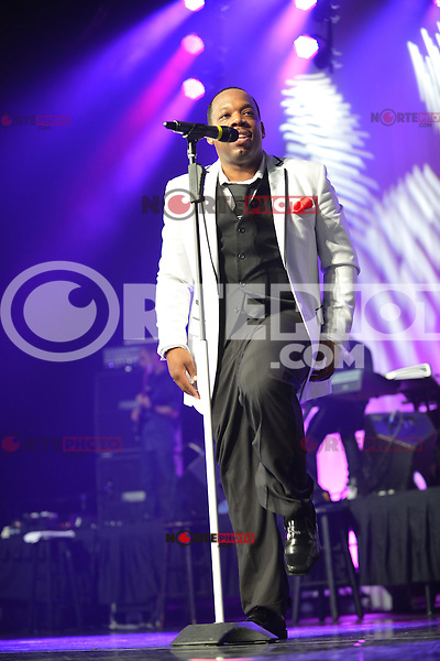 MIAMI, FL - MAY 05: Michael Bivins of New Edition performs at the Bank United Center in support of their tour 'Road To the 30th' on May 5, 2012 in Miami, Florida.  (photo by: MPI10/MediaPunch Inc.)