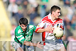 St Kieran's v  West Kerry'  in the Senior Football Championship Round 3 at Austin Stack Park, Tralee on Sunday.