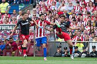 MADRID, ESPAÑA - 21 DE MAYO DE 2017: durante el encuentro entre el Atlético de Madrid y Athletic Club de Bilbao, correspondiente al partido de la 38 jornada de liga, disputado en el Estadio Vicente Calderón. (Foto: Mateo Villalba-Agencia LOF)