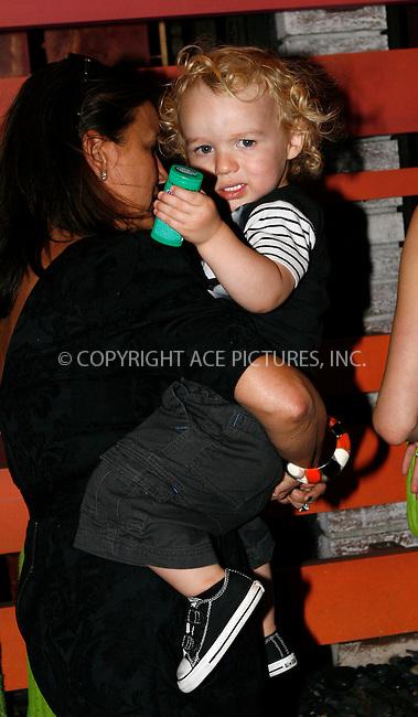 WWW.ACEPIXS.COM . . . . .  ....September 8 2010, New York City....Ashlee Simpson's son Bronx Mowgli seen out in Manhattan on September 8 2010 in New York City....Please byline: NANCY RIVERA- ACEPIXS.COM.... *** ***..Ace Pictures, Inc:  ..Tel: 646 769 0430..e-mail: info@acepixs.com..web: http://www.acepixs.com