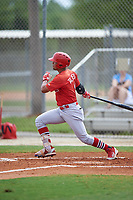 St. Louis Cardinals Carlos Talavera (11) bats during a Minor League Spring Training intrasquad game on March 31, 2016 at Roger Dean Sports Complex in Jupiter, Florida.  (Mike Janes/Four Seam Images)