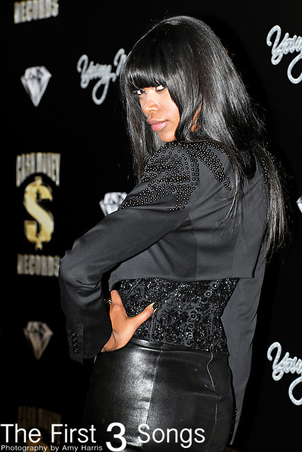 Model JESSICA WHITE attends the Cash Money Records Annual Pre-Grammy Awards Party at the Lot in West Hollywood on Saturday, February 12, 2011.
