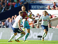 Burnley Sam Vokes during the Premier League match between Tottenham Hotspur and Burnley at White Hart Lane, London, England on 27 August 2017. Photo by Andrew Aleksiejczuk / PRiME Media Images.