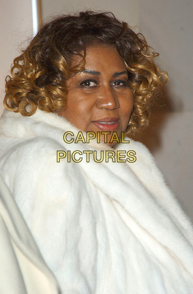 ARETHA FRANKLIN.Arrivals - 29th Annual Kennedy Center Honors, .held at the John F. Kennedy Center for the Performing Arts, Washington, D.C. USA, 03 December 2006..portrait headshot.CAP/ADM/GS.©George Shepherd/AdMedia/Capital Pictures