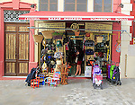 Small shop in city centre of Almeria, Spain