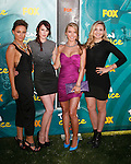 UNIVERSAL CITY, CA. - August 09: Actresses Briana Evigan, Rumer Willis, Audrina Patridge, and Leah Pipes arrives at the Teen Choice Awards 2009 held at the Gibson Amphitheatre on August 9, 2009 in Universal City, California.