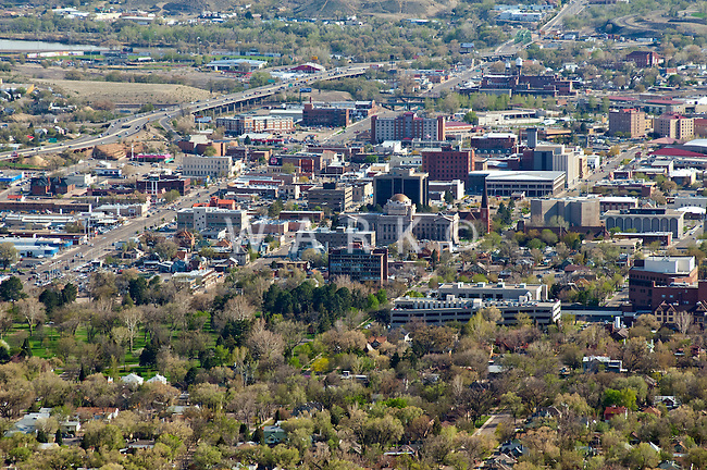 Pueblo, Colorado. Looking south. April 2012