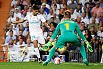 Supercopa de Espa&ntilde;a - Vuelta<br /> R. Madrid vs FC Barcelona: 2-0.<br /> Marco Asensio vs Marc-Andre Ter Stegen.