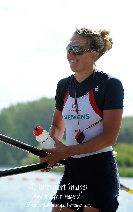 Caversham Reading. GBR M4-, Mel WILSON. GB Rowing 2011 World Cup team announcement,  Redgrave and Pinsent Lake. Tuesday  10/05/2011.   [Mandatory Credit; Peter Spurrier/Intersport-images]