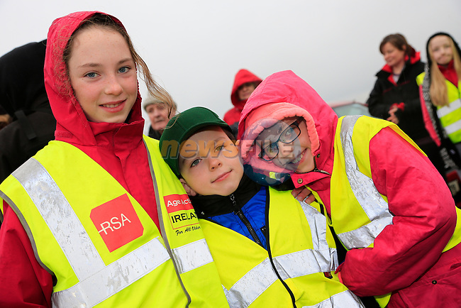 Caoimhe Albha and Conal Horan<br /> Meath Local Sports Partnership and ISC have linked up with RTE's Operation Transformation to hold a national walk day<br />  Picture: Fran Caffrey www.newsfile.ie