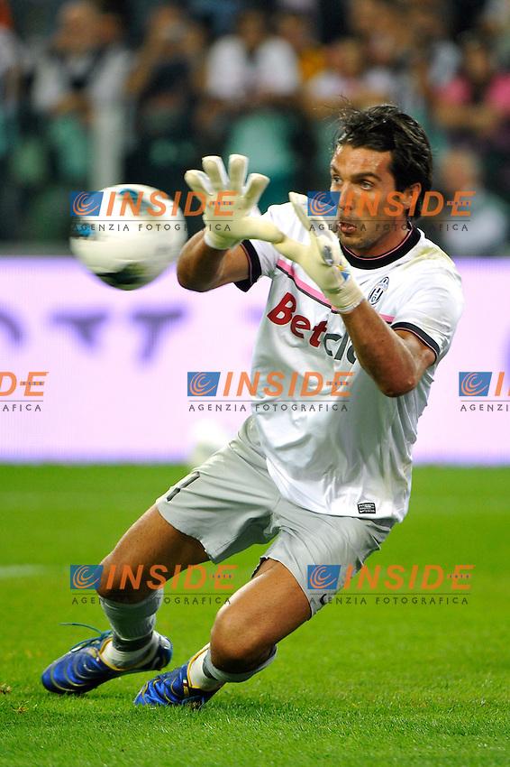 Gianluigi Buffon ( Juventus ) .Torino 02/10/2011 Juventus Stadium.Serie A 2011/2012 .Football Calcio Juventus Milan 2-0.Foto Insidefoto Giorgio Perottino