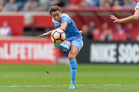 Bridgeview, IL - Sunday August 20, 2017: Taylor Comeau during a regular season National Women's Soccer League (NWSL) match between the Chicago Red Stars and FC Kansas City at Toyota Park. KC Kansas City won 3-1.