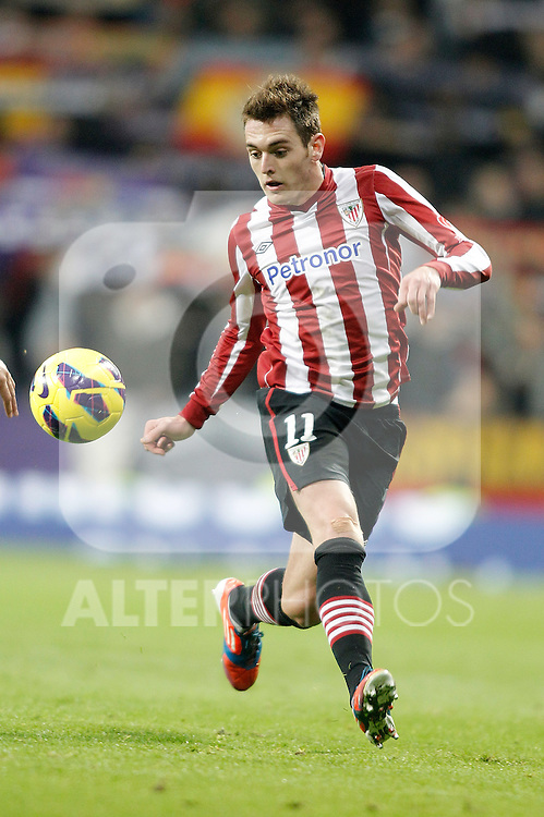 Athletic de Bilbao's Ibai Gomez during La Liga Match. November 18, 2012. (ALTERPHOTOS/Alvaro Hernandez)