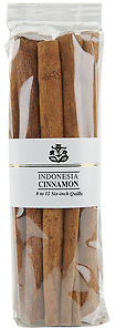 10401 6 Inch Cinnamon - 12 Quills, Holiday Spices