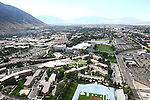1309-22 1690<br /> <br /> 1309-22 BYU Campus Aerials<br /> <br /> Brigham Young University Campus, Provo, Sunrise, Helaman Halls HL, Cannon Center CANC<br /> <br /> September 6, 2013<br /> <br /> Photo by Jaren Wilkey/BYU<br /> <br /> &copy; BYU PHOTO 2013<br /> All Rights Reserved<br /> photo@byu.edu  (801)422-7322