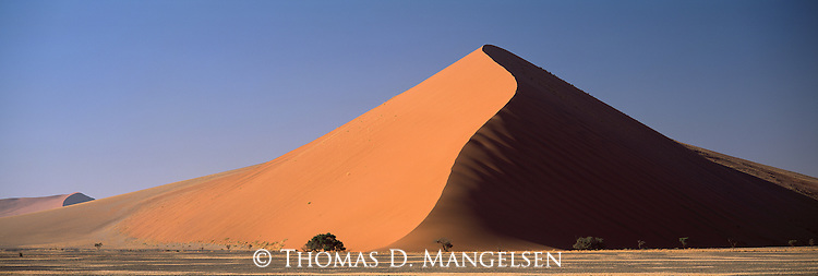 A large sand dune in Sossusvlei National Park, Namibia.