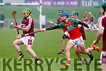 Action from the Causeway v Crotta O'Neills U21 hurling championship final on Saturday last.