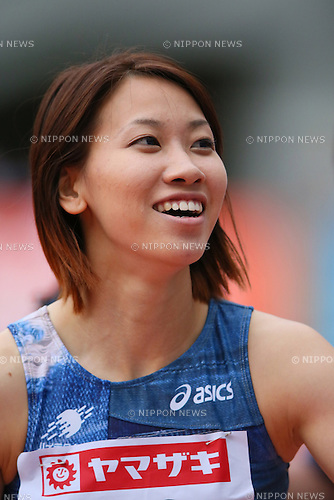 Chisato Fukushima (JPN), <br /> JUNE 9, 2013 - Athletics : <br /> The 97th Japan Track &amp; Field National Championships <br /> Women's 200m Final <br /> at Ajinomoto Stadium, Tokyo, Japan. <br /> (Photo by YUTAKA/AFLO SPORT)