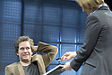 Landscape With Weapon  by Joe Penhall Directed by Roger Michell With Tom Hollander as Ned, Pippa Haywood as Ross. Opens at the Cottesloe Theatre  on 5/4/07.   CREDIT Geraint Lewis