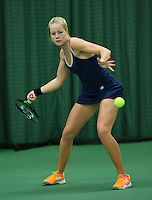 Rotterdam, The Netherlands, March 18, 2016,  TV Victoria, NOJK 14/18 years, Nina Kruijer (NED)<br /> Photo: Tennisimages/Henk Koster