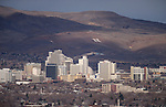 Reno, Nev., skyline, seen Friday, Dec. 19, 2014.<br /> Photo by Cathleen Allison