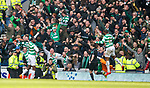 11.3.2018 Rangers v Celtic:<br /> Odsonne Edouard scores the winner for Celtic