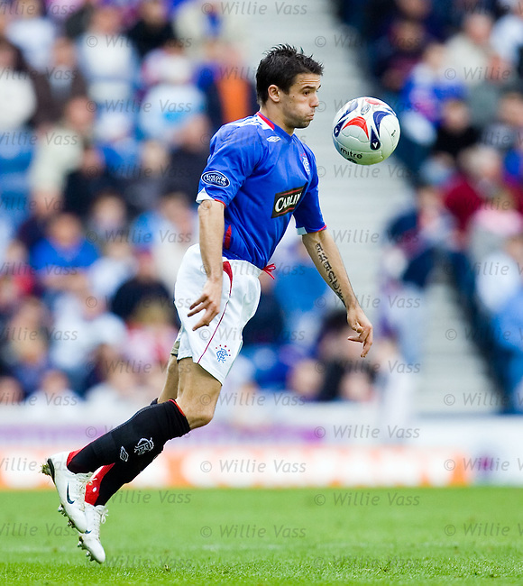 Nacho Novo, Rangers.stock season 2006-2007.pic willie vass