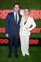 """LOS ANGELES - FEB 21:  Bill Hader, Sarah Goldberg at the """"Barry"""" HBO Premiere Screening at the NeueHouse Hollywood on February 21, 2018 in Los Angeles, CA"""
