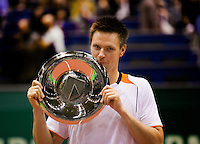 14-2-10, Rotterdam, Tennis, ABNAMROWTT, Robin Soderling, with the trophy