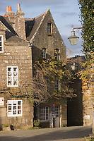 Europe/France/Bretagne/29/Finistère/Locronan: détail des maisons renaissance en granit