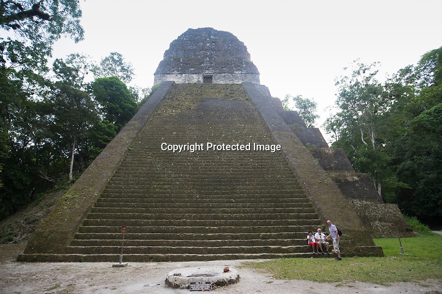 03/03/16 <br /> <br /> Tikal, the ancient Mayan citadel,  Guatemala. <br /> <br /> All Rights Reserved: F Stop Press Ltd. +44(0)1335 418365   +44 (0)7765 242650 www.fstoppress.com