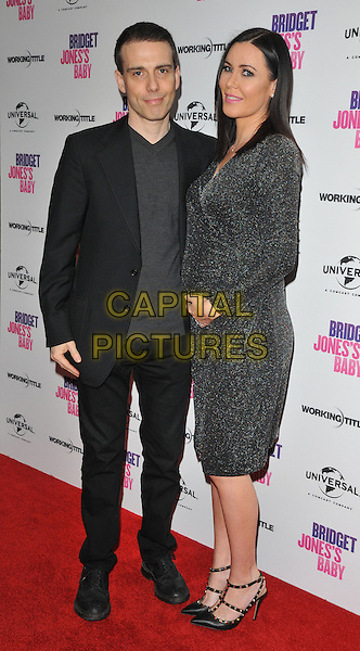 Will Stoppard and Linzi Stoppard at the &quot;Bridget Jones's Baby&quot; special film screening to celebrate the UK dvd release, Charlotte Street Hotel, Charlotte Street, London, England, UK, on Tuesday 31 January 2017.<br /> CAP/CAN<br /> &copy;CAN/Capital Pictures