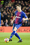 Thomas Vermaelen of barcelona runs with the ball during the La Liga 2017-18 match between FC Barcelona and Deportivo La Coruna at Camp Nou Stadium on 17 December 2017 in Barcelona, Spain. Photo by Vicens Gimenez / Power Sport Images
