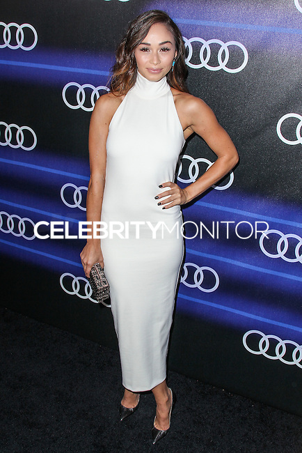 WEST HOLLYWOOD, CA, USA - AUGUST 21: Cara Santana arrives at the Audi Emmy Week Celebration held at Cecconi's Restaurant on August 21, 2014 in West Hollywood, California, United States. (Photo by Xavier Collin/Celebrity Monitor)