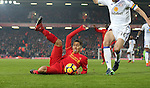 Roberto Firmino of Liverpoolduring the Premier League match at the Anfield Stadium, Liverpool. Picture date: November 26th, 2016. Pic Simon Bellis/Sportimage