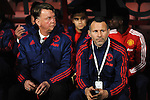 Manchester United Manager Louis van Gaal and Manchester United Assistant Manager Ryan Giggs<br /> - Barclays Premier League - Bournemouth vs Manchester United - Vitality Stadium - Bournemouth - England - 12th December 2015 - Pic Robin Parker/Sportimage