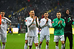 06.10.2019, Commerzbankarena, Frankfurt, GER, 1. FBL, Eintracht Frankfurt vs. SV Werder Bremen, <br /> <br /> DFL REGULATIONS PROHIBIT ANY USE OF PHOTOGRAPHS AS IMAGE SEQUENCES AND/OR QUASI-VIDEO.<br /> <br /> im Bild: Maximilian Eggestein (#35, SV Werder Bremen)<br /> <br /> Foto © nordphoto / Fabisch