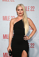 "WESTWOOD, CA - AUGUST 9: Lindsey Vonn, at Premiere Of STX Films' ""Mile 22"" at The Regency Village Theatre in Westwood, California on August 9, 2018. Credit: Faye Sadou/MediaPunch"
